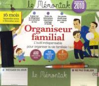 Organiseur familial, calendrier 2010 : l'outil indispensable pour organiser la vie familiale !