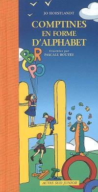 Comptines en forme d'alphabet