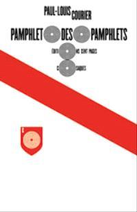 Pamphlet des pamphlets