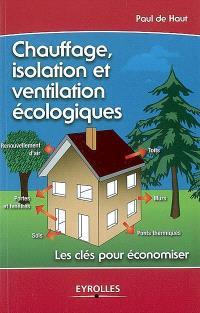 Chauffage, isolation et ventilation écologiques : les clés pour économiser