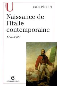 Naissance de l'Italie contemporaine, 1770-1922