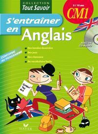 S'entraîner en anglais CM1, 9-10 ans