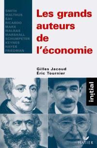 Les grands auteurs de l'économie