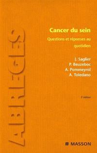 Cancer du sein : questions et réponses au quotidien