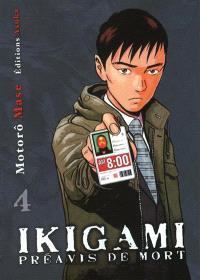 Ikigami, préavis de mort. Volume 4