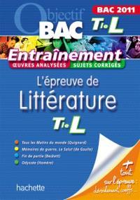 L'épreuve de littérature terminale L, bac 2011