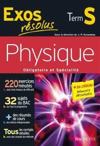 Physique, obligatoire et spécialité terminale S