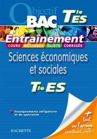 Sciences économiques et sociales terminale ES, enseignements obligatoire et de spécialité
