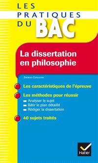 La dissertation en philosophie