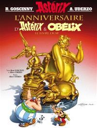 Une aventure d'Astérix. Volume 34, L'anniversaire d'Astérix & Obélix : le livre d'or