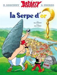 Une aventure d'Astérix. Volume 2, La serpe d'or