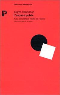 L'espace public : archéologie de la publicité comme dimension constitutive de la société bourgeoise