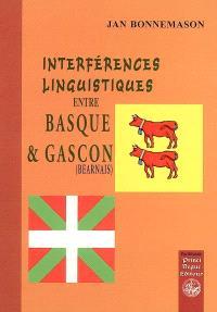 Interférences linguistiques entre basque et gascon (béarnais)