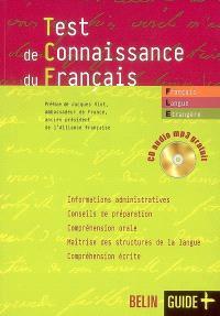 Test de connaissance du français, français langue étrangère : préparation aux examens
