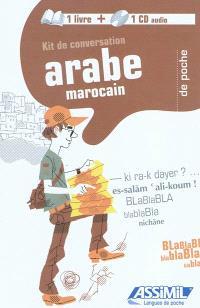 Kit de conversation arabe marocain de poche
