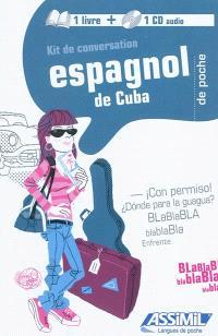 Kit de conversation espagnol de Cuba de poche