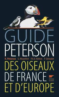 Guide Peterson des oiseaux de France et d'Europe