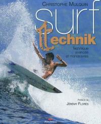 Surf technik : technique avancée et manoeuvres