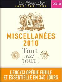 Miscellanées 2010