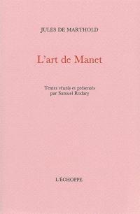 L'art de Manet