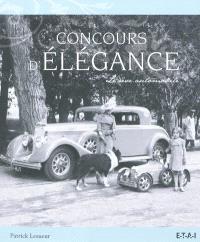 Concours d'élégance : le rêve automobile