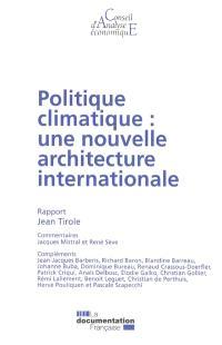 Politique climatique : une nouvelle architecture internationale
