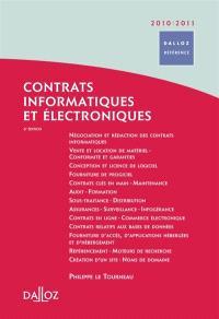 Contrats informatiques et électroniques 2010-2011
