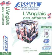 L'anglais des affaires : super pack