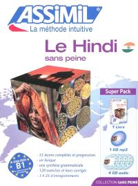Le hindi sans peine : super pack