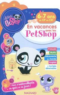 En vacances avec les Petshop 6-7 ans, du CP au CE1