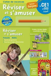Réviser et s'amuser, du CE1 au CE2, 7-8 ans : spécial garçons