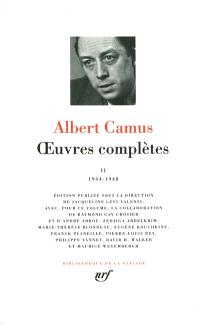 Oeuvres complètes. Volume 2, 1944-1948