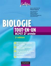Biologie tout-en-un 2e année BCPST