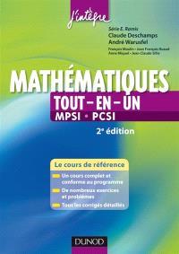 Mathématiques tout-en-un, MPSI-PCSI