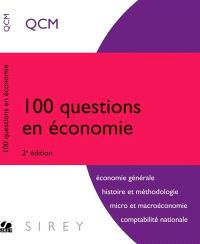 100 questions en économie