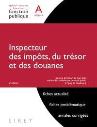 Inspecteur des impôts, du trésor et des douanes, catégorie A