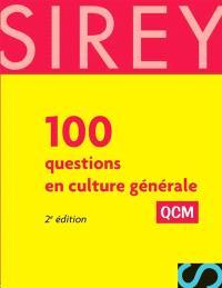 100 questions en culture générale