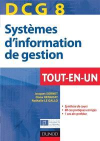 Systèmes d'information et de gestion, DCG 8 : tout-en-un