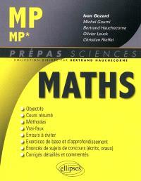 Mathématiques MP, MP*