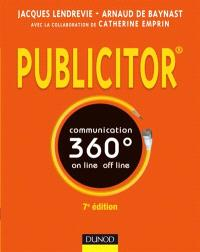 Publicitor : communication 360° on line, off line