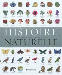 Histoire naturelle : plus de 5.000 entrées en couleurs