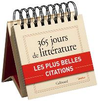 Gallimard : 365 jours de littérature : les plus belles citations