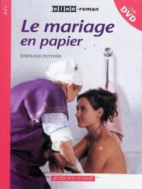 Le mariage en papier