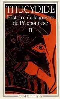 Histoire de la guerre du Péloponnèse. Volume 2