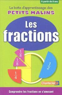 La boîte d'apprentissage des petits malins : les fractions