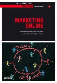 Marketing online : promotion et vente de produits ou de services : connecté à ou contrôlé par un ordinateur