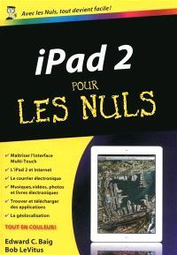 iPad 2 pour les nuls