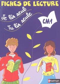 Je lis seul, tu lis seule CM1 : fiches de lecture