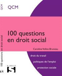 100 questions en droit social