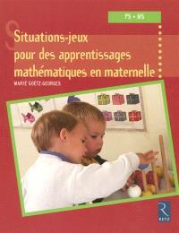 20 situations-jeux pour les apprentissages mathématiques en maternelle